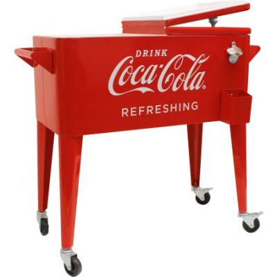 "Walmart – 80-Quart Retro Coca-Cola Cooler ""Refreshing"" Only $104.60 (Reg $125.70) + Free Shipping"