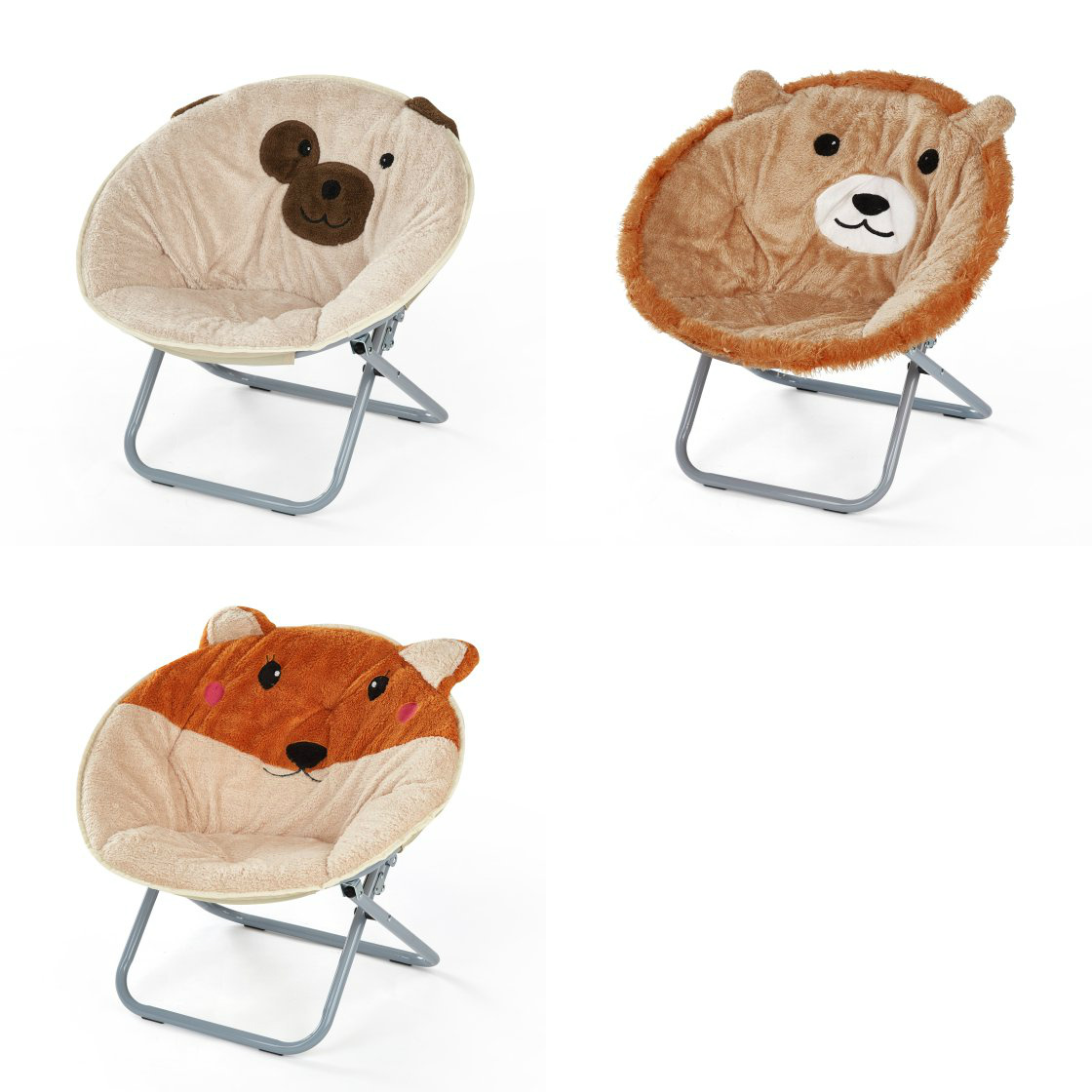 Whether You Are Studying, Hanging Out With Friends Or Just Lounging Around,  This Animal Saucer Chair Makes A Fun, Comfy Addition To Any Room.