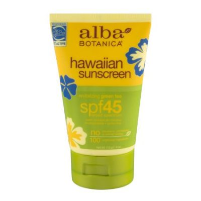 Walmart – Alba Botanica Hawaiian Green Tea Sunscreen SPF 45, 4 Oz Only $6.93 (Reg $8.78) + Free Store Pickup