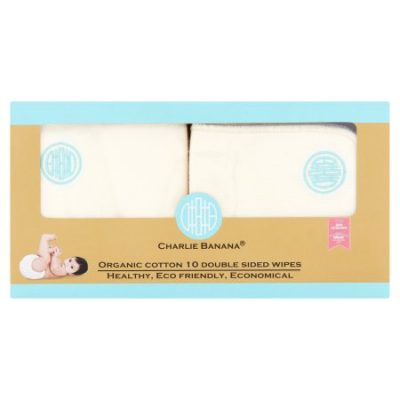 Walmart – Charlie Banana Organic Cotton Blue Emb Double Sided Wipes, 10 Count Only $14.99 (Reg $19.99) + Free Store Pickup