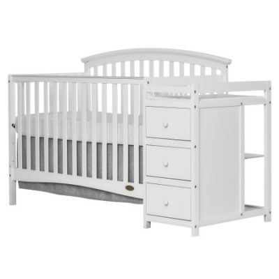 Walmart – Dream On Me Niko 5 in 1 Convertible Crib with Changer White Only $219.99 (Reg $379.40) + Free Shipping