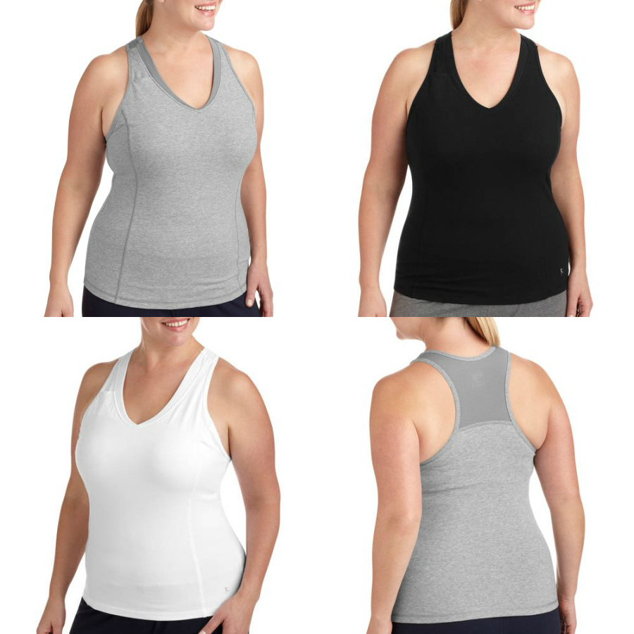 f47b611f069 Danskin Now plus Core Racerback Tank gives you comfortable support  throughout your activity. The racerback moves with you