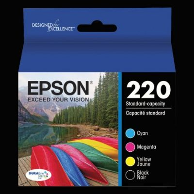 Walmart – Epson 220 DURABrite Ultra Black/Color Combo Pack Ink Cartridges Only $28.49 (Reg $36.05) + Free Store Pickup