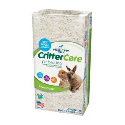 Walmart – Critter Care Snowflake Bedding for Small Animals, 10L Only $4.65 (Reg $8.12) + Free Store Pickup