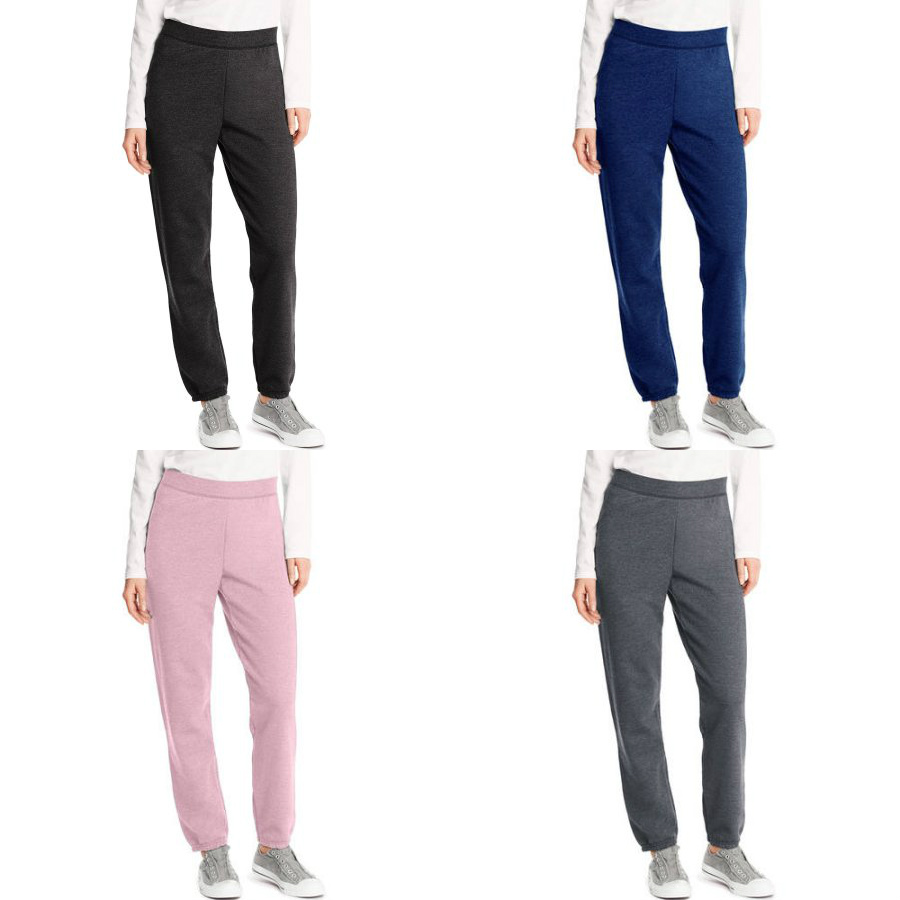 d230f85d983 Hanes Women s Rib Waist Cinched Bottom Fleece Sweatpants are designed to  keep you cozy. These sweatpants feature an elastic waistband and cinched  bottom leg ...