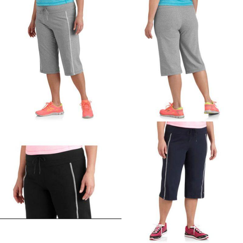 Walmart – Danskin Now Womens Plus Size Dri More Core Workout Bermuda Only $10.00 (Reg $12.96)  + Free Store Pickup