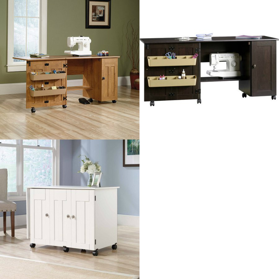 Walmart Sauder Sewing And Craft Table Multiple Finishes
