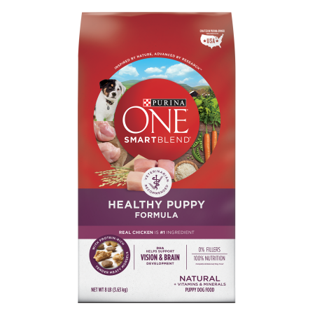 Walmart – Purina ONE SmartBlend Natural Healthy Puppy Formula Dry Dog Food – 8 lb. Bag Only $11.99 (Reg $13.50) + Free Store Pickup