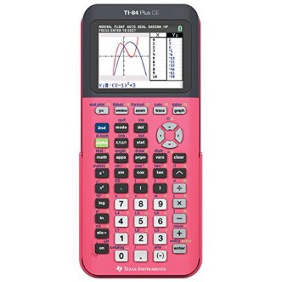 Walmart – Texas Instruments TI-84 Plus CE Graphing Calculator, Coral Only $112.00 (Reg $125.00) + Free Shipping