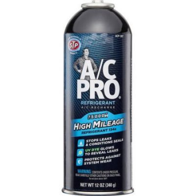 Walmart – A/C Pro High Mileage Auto Air Conditioner Refrigerant, 134A, 12oz Only $17.98 (Reg $20.96) + Free Store Pickup