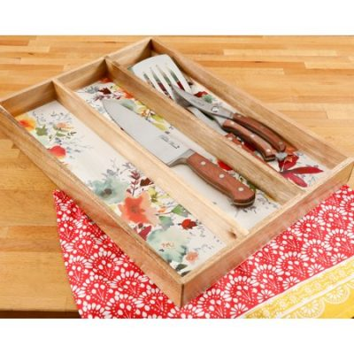 Walmart – The Pioneer Woman Willow 13×18 Inch Gadget Organizer Only $12.48 (Reg $17.63) + Free Store Pickup