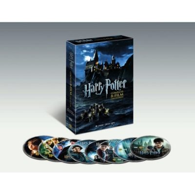 Walmart – Harry Potter Complete 8-Film Collection (DVD) Only $40.65 (Reg $78.92) + Free 2-Day Shipping
