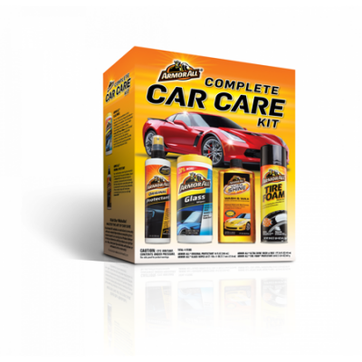 Walmart – Armor All Complete Car Care Kit (4 Pieces), Car Cleaning Only $13.47 (Reg $18.88) + Free Store Pickup