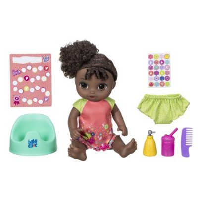 Walmart – Baby Alive Potty Dance Baby: Talking Baby Doll with Black Curly Hair Only $38.82 (Reg $48.82) + Free 2-Day Shipping