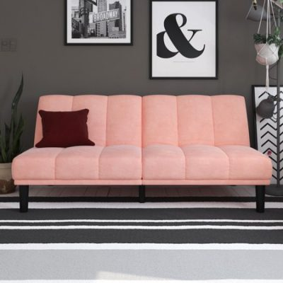 Walmart – Mainstays Channel Cushion Futon, Multiple Colors Only $188.00 (Reg $250.00) + Free Shipping