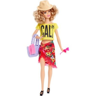 Walmart – Barbie Glam Vacation Pink Polka Dot Doll Only $14.60 (Reg $24.95) + Free Store Pickup