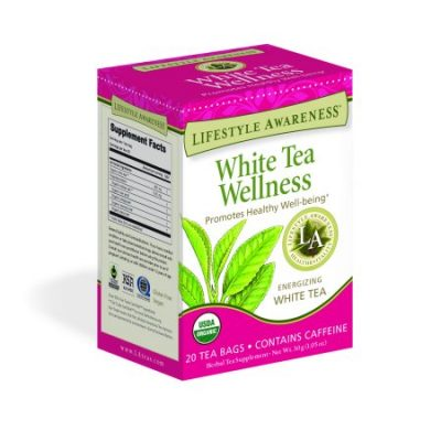 Walmart – Lifestyle Awareness White Tea Wellness Tea, Contains Caffeine, 20 Tea Bags, Pack of 6 Only $16.32 (Reg $19.62) + Free Store Pickup