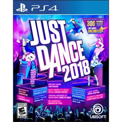 Walmart – Just Dance 2018, Ubisoft, PlayStation 4, 887256028633 Only $31.20 (Reg $59.88) + Free Store Pickup