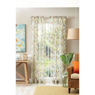 Walmart – Better Homes & Gardens Tropical Sheer Floral Panel Only $9.35 (Reg $11.00) + Free Store Pickup