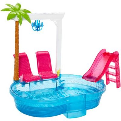 Walmart – Barbie Glam Pool Party Playset Only $14.99 (Reg $19.99) + Free Store Pickup