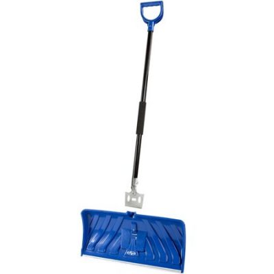 Walmart – Snow Joe SJEG24 2-in-1 Snow Pusher + Ice Chopper | 24-Inch | Poly Blade (Blue) Only $23.99 (Reg $27.99) + Free Store Pickup