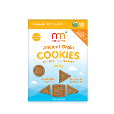 Walmart – NurturMeOrganic Ancient Grain Cookies with Probiotics for Kids: Honey (4.3 oz) Only $3.10 (Reg $7.99) + Free Store Pickup