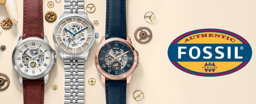 Fossil.com – Up to 75% Off Wallets & Watches + Free Shipping AND Free Engraving