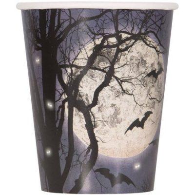 Walmart – Spooky Night Halloween Paper Cups, 9oz, 8ct Only $1.94 (Reg $3.33) + Free Store Pickup
