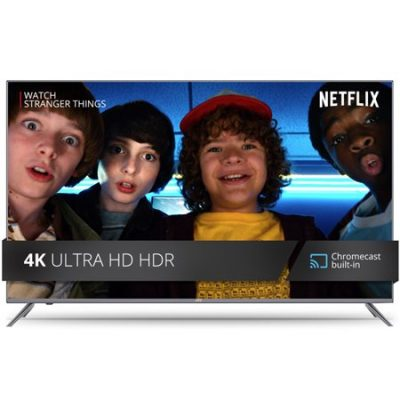 Walmart – JVC 49″ Class 4K Ultra HD (2160P) HDR Smart LED TV with Built-in Chromecast (LT-49MA875) Only $249.99 (Reg $499.99) + Free 2-Day Shipping