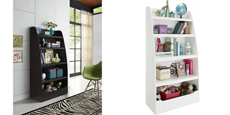 Walmart – Ameriwood Home Mia Kids' 4 Shelf Bookcase,  Espresso or White Only $79.00 (Reg $119.00) + Free Shipping