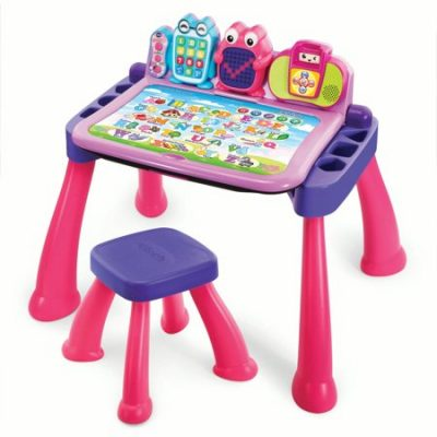Walmart –  VTech® Touch & Learn Activity Desk™ Deluxe – Pink Only $49.91 (Reg $54.99) + Free Shipping