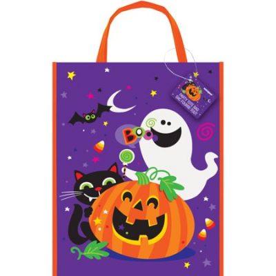 Walmart – Large Plastic Happy Halloween Goodie Bag, 15 x 12 in, 1ct Only $1.48 (Reg $1.88) + Free Store Pickup
