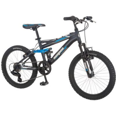 Walmart – 20″ Mongoose Ledge 2.1 Boys' Mountain Bike, Black Only $129.00 (Reg $149.00) + Free 2-Day Shipping