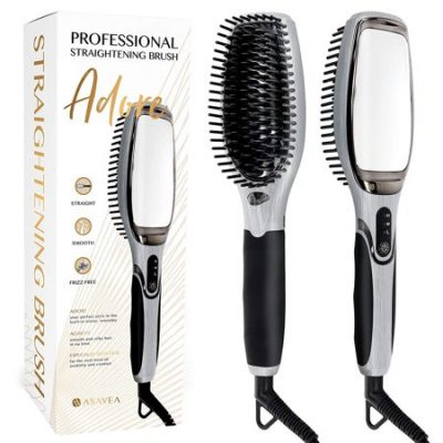 Walmart – AsaVea 7.0 Ceramic Professional Hair Straightening Brush with Mirror Only $58.30 (Reg $75.18) + Free Shipping