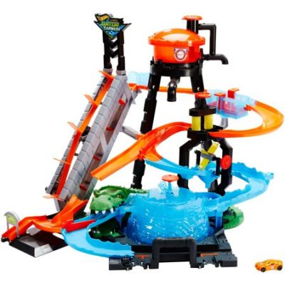 Walmart – Hot Wheels Ultimate Gator Car Wash Play Set with Color Shifters Car Only $58.88 (Reg $69.99) + Free 2-Day Shipping