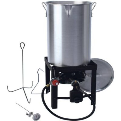Walmart – 30 qt Turkey Fryer with Spout Only $39.97 (Reg $47.98) + Free 2-Day Shipping