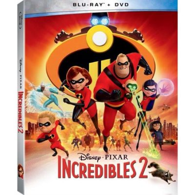 Walmart – Incredibles 2 (Walmart Exclusive) (Blu-ray + DVD) Only $19.80 (Reg $26.96) + Free Store Pickup