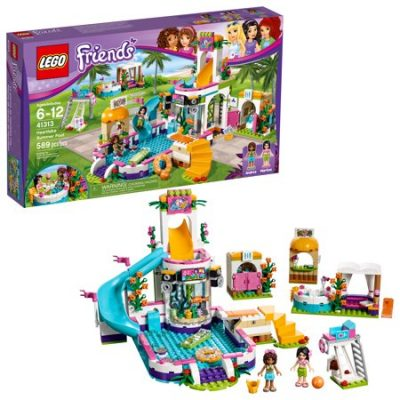 Walmart – LEGO Friends Heartlake Summer Pool 41313 Only $36.00 (Reg $49.99) + Free Store Pickup