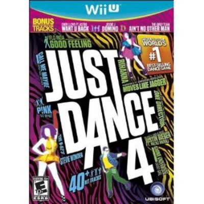 Walmart – Just Dance 4 (WiiU) Only $10.88 (Reg $14.99) + Free Store Pickup