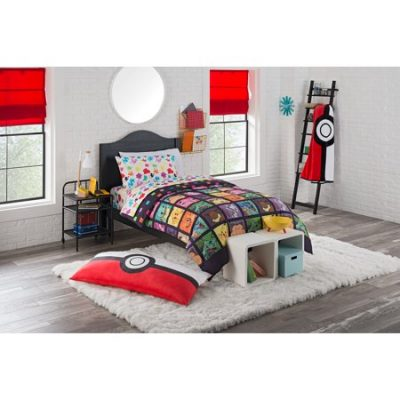 "Walmart – Pokemon ""Kanto Favorites"" 4 Piece Twin Bed in a Bag Bedding Set Only $34.98 (Reg $39.98) + Free Store Pickup"