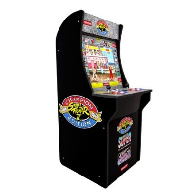 Walmart – Arcade1Up Street Fighter 2 Machine Only $249.00 (Reg $299.00) + Free Shipping