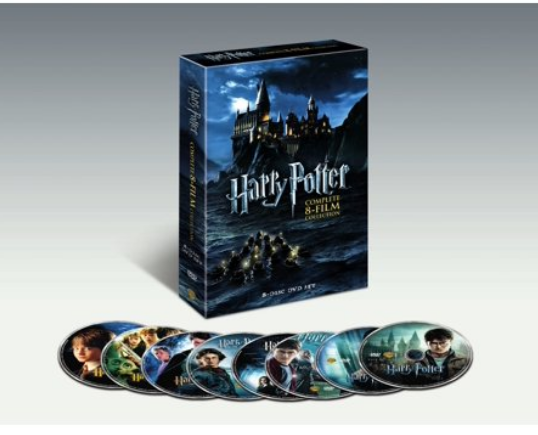 Harry Potter Complete 8-Film Collection (DVD) Only $43.96 (Reg $73.92) + Free Shipping!