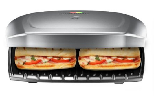 Walmart.com – George Foreman 9-Serving Electric Indoor Grill and Panini Press For Only $19.99 (Reg $52) + Free Store Pickup!
