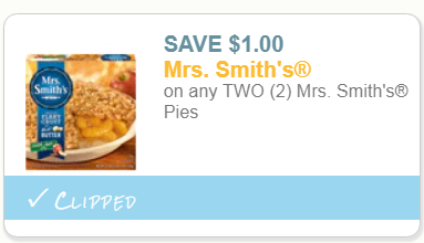 image regarding Smiths Coupons Printable known as Mrs Smiths Pies Merely $1.50 Each individual At Winn Dixie With