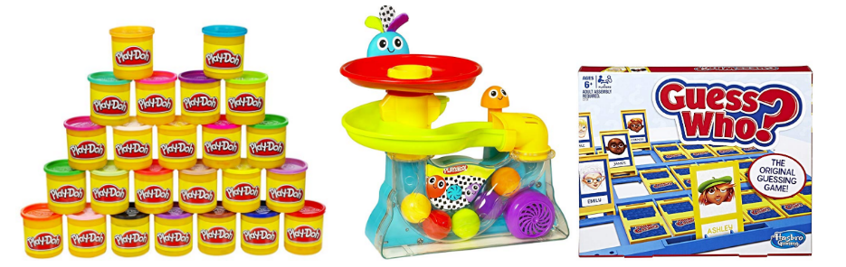 Amazon - Up to 50% Off Select Hasbro Games, Play-Doh, Nerf