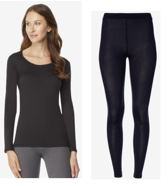 Heat Base Layer Scoop Neck Top OR Legging Only $5.99, Reg $20 + Free Shipping On ALL Orders!