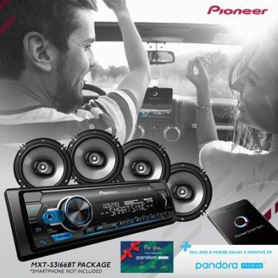 Walmart – Pioneer 2018 Digital Media Receiver & Speaker Holiday Bundle with Pandora Premium Trial Only $79.99 (Reg $109.99) + Free 2-Day Shipping