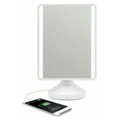 Walmart – iHome Reflect LED Vanity Mirror with Bluetooth Audio Only $49.88 (Reg $79.99) + Free 2-Day Shipping