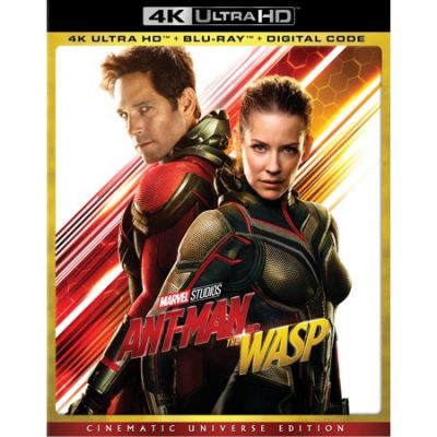 Walmart – Ant-Man and the Wasp (Cinematic Universe Edition) (4K Ultra HD + Blu-ray + Digital) Only $23.45 (Reg $33.10) + Free Store Pickup