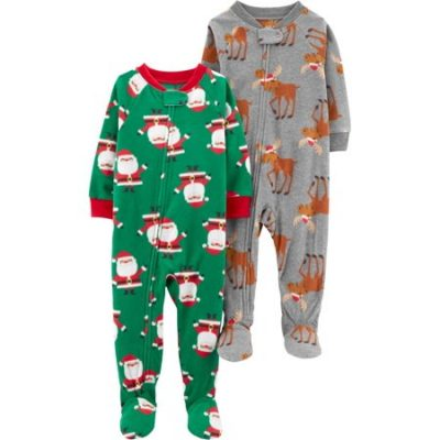 Walmart – Child of Mine by Carter's Christmas Microfleece Footed Blanket Sleeper Only $13.50 (Reg $14.88) + Free Store Pickup